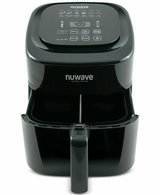 Nuwave 37001 6-qt 1800w Digital Air Fryer used twice - black in Fairfax, Virginia