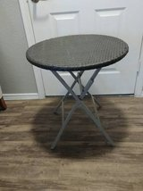 Small Round Folding table with lattice Tope in Phoenix, Arizona