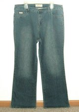 Baby Phat Boot Cut Denim Jeans Womens Plus Size 20 x 32 Long 20w in Yorkville, Illinois