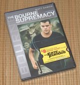 NEW Matt Damon The Bourne Supremacy DVD w Bonus Features in Oswego, Illinois