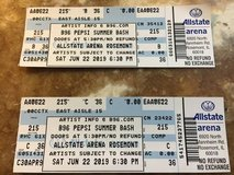 TWO B96 Summer Bash Tickets in Chicago, Illinois