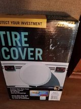 "New size ""C"" white tire cover in box in Camp Pendleton, California"