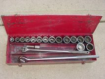 "Wright 3/4"" Drive 18 Piece SAE Socket Set 7/8""; To 2"" With Box in Westmont, Illinois"