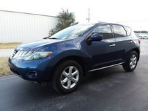 ONE OWNER 2010 Nissan Murano S 5Pass SUV, V6 Automatic ONLY 73k Miles! in Cherry Point, North Carolina