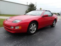 RARE Red 1995 Nissan 300ZX Convertible V6 Automatic Cold A/C Low Miles in Cherry Point, North Carolina