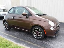 Expresso 2013 Fiat 500 Sport Coupe, Leather, Alloy Wheels, ONLY 29k Miles in Cherry Point, North Carolina