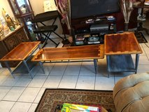 vintage 3-pc set mid-century lane coffee  &  end tables in Tomball, Texas