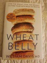 Wheat Belly book hardcover with dust jacket in Camp Pendleton, California