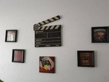 Movie theme wall decor in The Woodlands, Texas