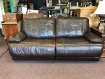 Reclining Leather Sofa in Chicago, Illinois
