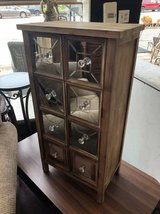 Wood and Mirror Cabinet in Bartlett, Illinois
