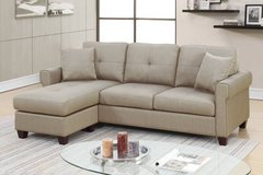 New! 2-Pcs Sectional Sofa F6572 FREE DELIVERY in Camp Pendleton, California