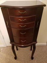 Jewelry armoire in Fort Campbell, Kentucky