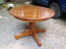 Round Solid wood Table in Fort Campbell, Kentucky