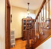 """Vintage Mahogany Breakfront / Duncan Phyfe Style ~ Smaller 42""""W China Cabinet in Joliet, Illinois"""