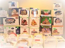 DEPT. 56 ORIGINAL SNOW VILLAGE - 125+ ITEMS NIB in Shorewood, Illinois