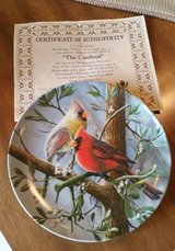 Plate - Cardinal - Certificate of Authenticity in Naperville, Illinois