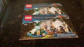 Lego Pirates of the Caribbean Instruction Book in Oswego, Illinois