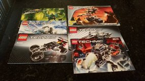 5 Lego Technic Instruction Books in Oswego, Illinois