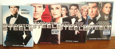 NEW Remington Steele Complete TV Series Seasons 1-5 Box Sets 17 Disc 1 2 3 4 5 in Chicago, Illinois