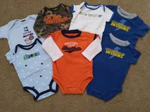 Little Brother onesies in Camp Pendleton, California
