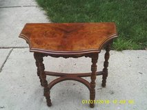 ANTIQUE ALL WOOD TABLE in Orland Park, Illinois