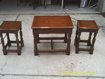 REDUCED.....3 TABLES ALL WOOD DAVIS FURNITURE CO. in Chicago, Illinois