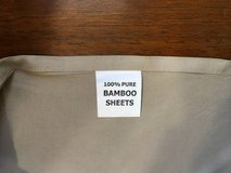 Beige Rv Short Queen Sheet Set - Like New in Orland Park, Illinois