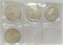 1972 d,f,g,j germany munich summer olympic games stadium 10 mark silver coins in Camp Lejeune, North Carolina