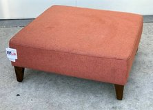 Oversized Upholstered Square Ottoman - New! in Naperville, Illinois