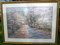 Large Framed Art Diane Romanello Autumn Scene in Orland Park, Illinois