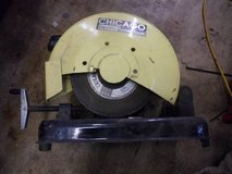"Chicago electric power tools 14"" cut-off saw in Joliet, Illinois"