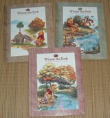 Lot of 3 Disney Winnie The Pooh Hard Cover Books About Nature in Joliet, Illinois