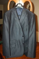 New Mens XXL Thread and Stitch Navy Blue Suit Jacket in Houston, Texas