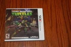 3DS Teenage Mutand Nija Turtles in Spring, Texas