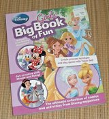 NEW Disney Girls Big Book of Fun Minnie Mouse Princesses Tinkerbell Daisy Duck in Plainfield, Illinois