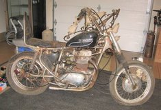 Motorcycle Built from Scavenger Parts - Harley - Engine not Frozen in Batavia, Illinois