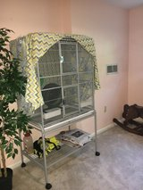 Large Sugar Glider Cage w/stand, cover and accessories in Quantico, Virginia