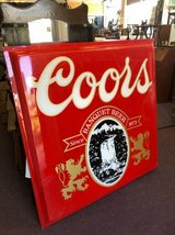 Coors Light Sign - Red in Aurora, Illinois
