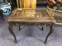 Antique Carved Table in Batavia, Illinois