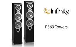 Infinity-Harmon Kardon 200W Floorstanding Loudspeakers & Polk Audio CSi A4 Center Speaker in Fort Drum, New York