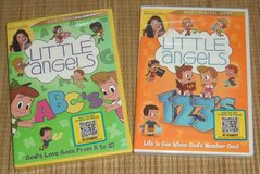 NEW Lot of 2 Little Angels 123 ABC 123s ABCs Alphabet Numbers DVD + Digital Copy in Joliet, Illinois