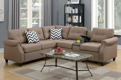 New Sectional with USB Console FREE DELIVERY in Vista, California