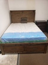 New! QUEEN Bed Elkton with Storage Drawer FREE DELIVERY in Vista, California