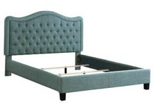 New! Full Gray Tufted Adjustable Headboard Bed Frame FREE DELIVERY in Vista, California