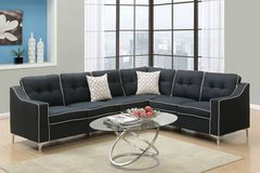 New Black Sectional Linen FREE DELIVERY in Vista, California