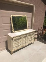 Vintage French Privincial Dresser with Mirror in Fairfield, California