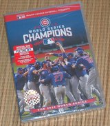 NEW Chicago Cubs 2016 World Series Champions DVD + Digital Copy MLB in Joliet, Illinois