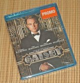 NEW The Great Gatsby PROMO BluRay Disc Movie SEALED Leonardo DiCaprio in Joliet, Illinois
