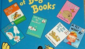 6 Dr Seuss Classic Favorites The Big Blue Book of Beginner Books Hard Cover Age Range 3 - 7 in Joliet, Illinois
